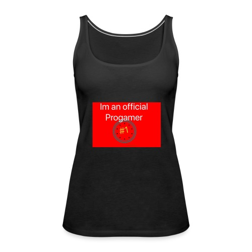 THE PRO'S - Red - Women's Premium Tank Top