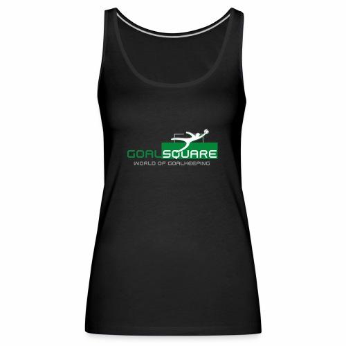 Official Goalsquare® logo - Women's Premium Tank Top