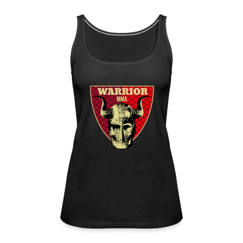WARRIOR MMA - Tank top damski Premium