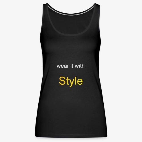 Style - Frauen Premium Tank Top