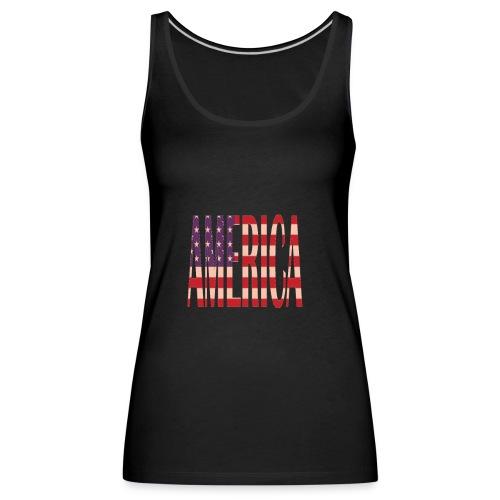 nuevos productos de America - Camiseta de tirantes premium mujer