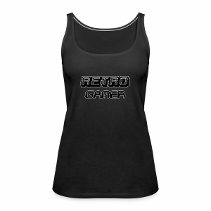 Retro Gamer - Women's Premium Tank Top