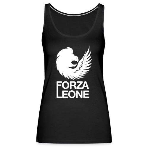 Logo website Forza Leone - Vrouwen Premium tank top