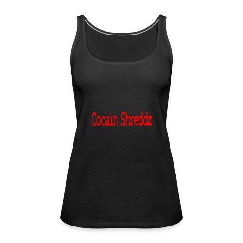 Cocain Shreddz red - Frauen Premium Tank Top