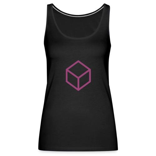 Nesquegressive Cube - Frauen Premium Tank Top