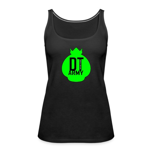 DT ARMY GREEN - Frauen Premium Tank Top