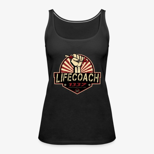 Lifecoach 1337 - Frauen Premium Tank Top