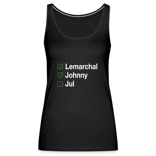 Check list Johnny Jul - Débardeur Premium Femme