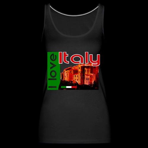 I love Italy! Trikolore - Frauen Premium Tank Top