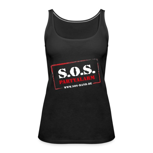 SOS Band - Frauen Premium Tank Top