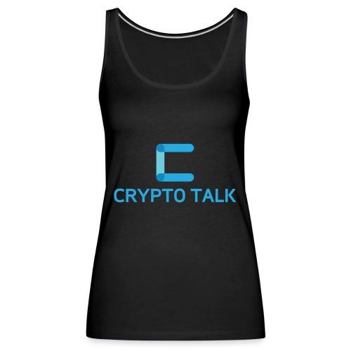 Crypto Talk - Women's Premium Tank Top