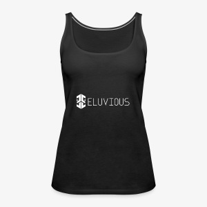 Eluvious | With Text - Women's Premium Tank Top
