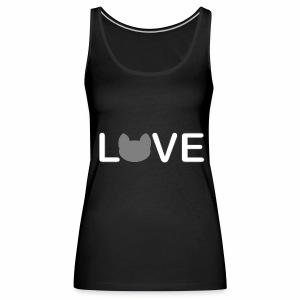 Love cats - Frauen Premium Tank Top