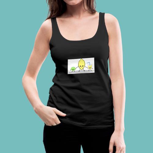 limoncitos kawaii - Camiseta de tirantes premium mujer