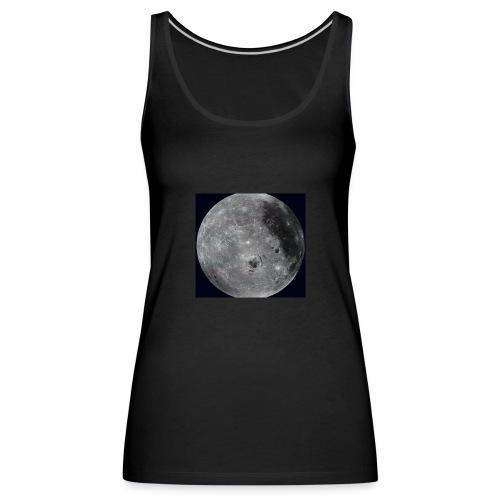 Moon face - Women's Premium Tank Top
