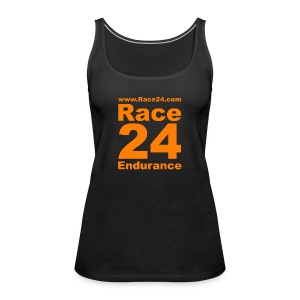 Race24 Logo in Orange - Women's Premium Tank Top