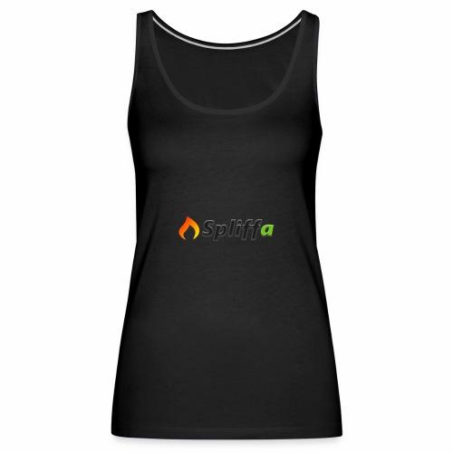 Spliffa logo - Premiumtanktopp dam