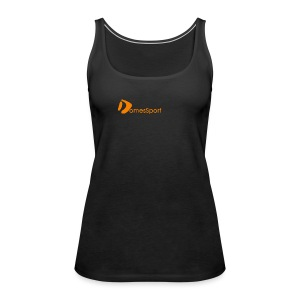 Logo DomesSport Orange noBg - Frauen Premium Tank Top