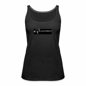 Counterpart Logo w on b - Frauen Premium Tank Top