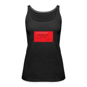 xandergamer123 support clothes - Women's Premium Tank Top