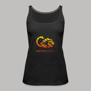 Manticor Textlogo - Frauen Premium Tank Top