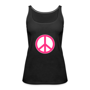 Peace, Love and Happiness - Vrouwen Premium tank top