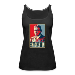 Sir Ernest Shackleton (red, white & blue colours) - Women's Premium Tank Top