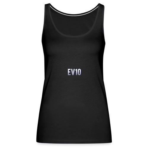 EV10 LOGO - Canotta premium da donna