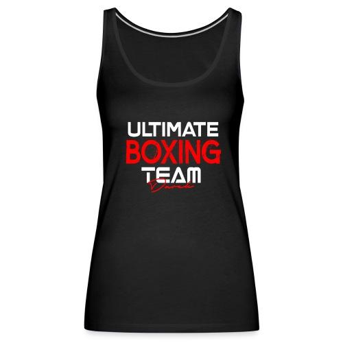Ultimate Boxing Schwarz - Frauen Premium Tank Top