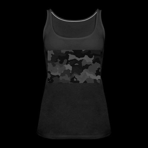 Camouflage-Black - Frauen Premium Tank Top