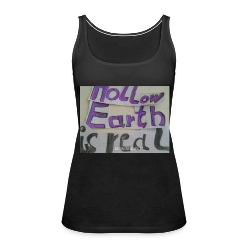 Lila-hollow-earth - Frauen Premium Tank Top