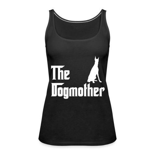 The Dogmother white dobermann - Frauen Premium Tank Top