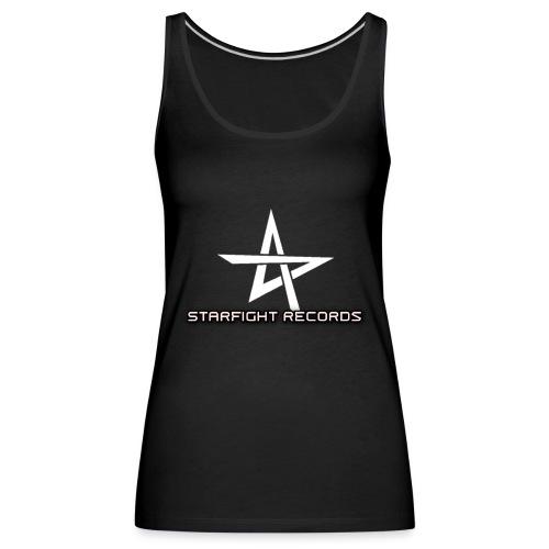 Starfight Records Retro Design - Frauen Premium Tank Top