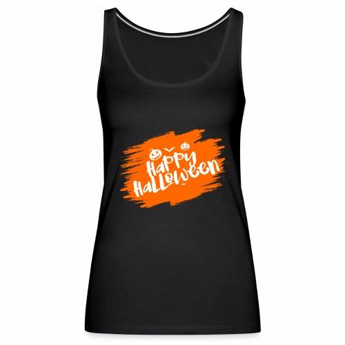 Cooles Happy Halloween Design als Geschenk / Idee - Frauen Premium Tank Top