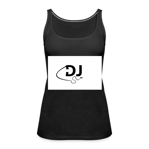 DJ Casque - Débardeur Premium Femme
