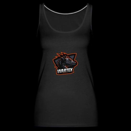 Wartex Logo orange - Frauen Premium Tank Top