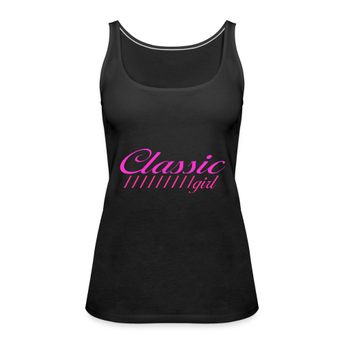 ClassicGirlPink - Frauen Premium Tank Top