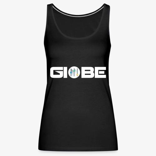 Official Merchandise Of GIOBE - Canotta premium da donna