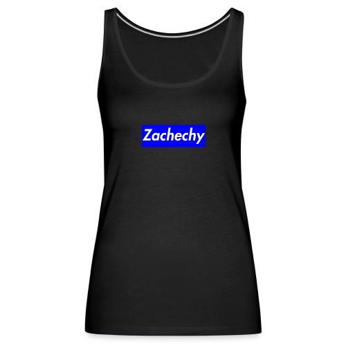zachechy BLUE - Frauen Premium Tank Top