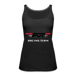FOT Gross 01 roter HG - Frauen Premium Tank Top