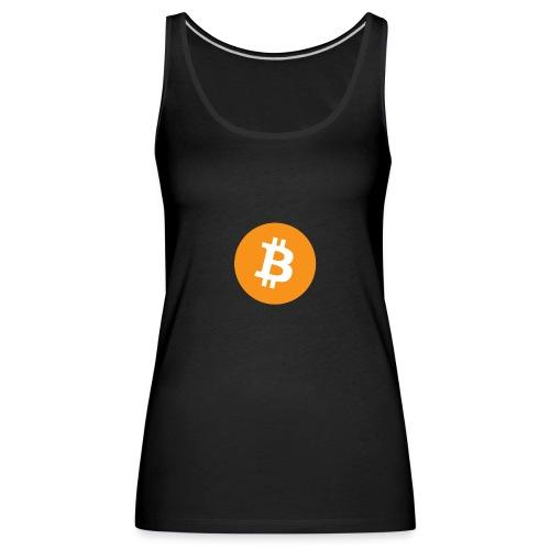 Bitcoin - Vrouwen Premium tank top