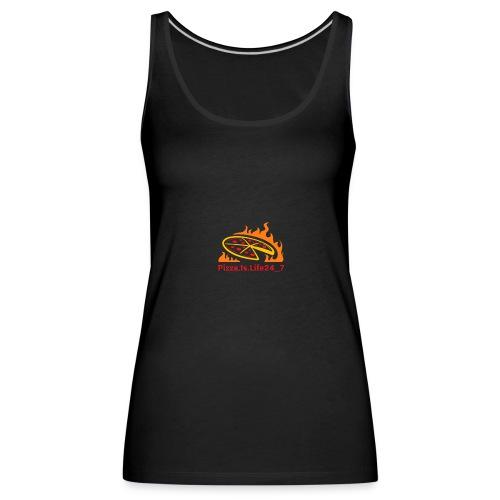 Pizza Logo - Frauen Premium Tank Top