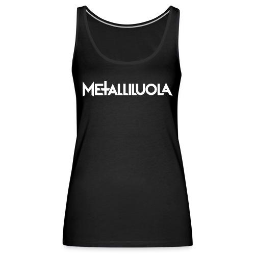 Metalliluola urheiluvaatteita - Naisten premium hihaton toppi