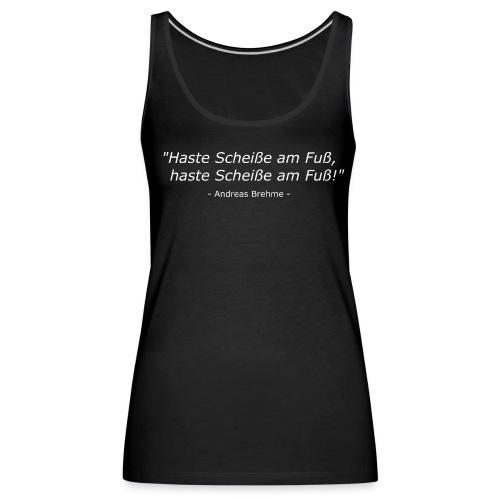 Andi Brehme Weisheit - Frauen Premium Tank Top