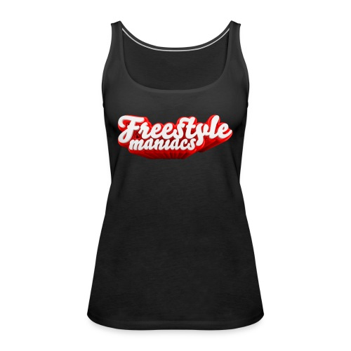 Freestyle Maniacs red - Vrouwen Premium tank top