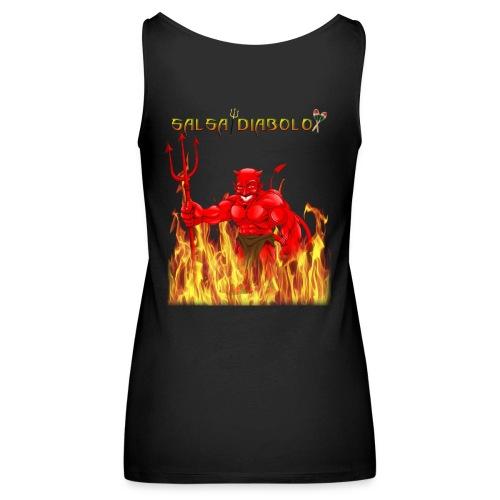 salsadiabolo - Camiseta de tirantes premium mujer
