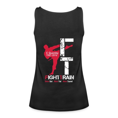 Fight Train 'The Collection' Range - Women's Premium Tank Top