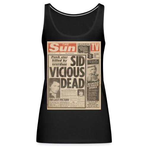 Sid Vicious Dead FP C - Women's Premium Tank Top