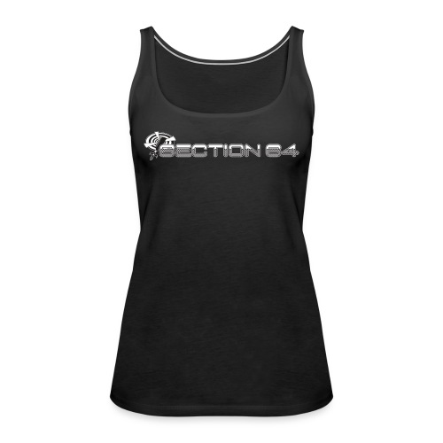 S64 logo for dark products - Women's Premium Tank Top