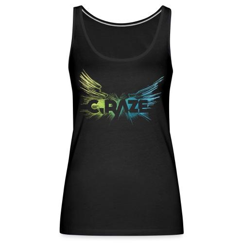 C Raze Shirt black - Frauen Premium Tank Top
